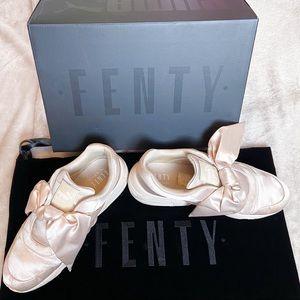 Fenty by Rhianna Puma bow sneakers pink tint